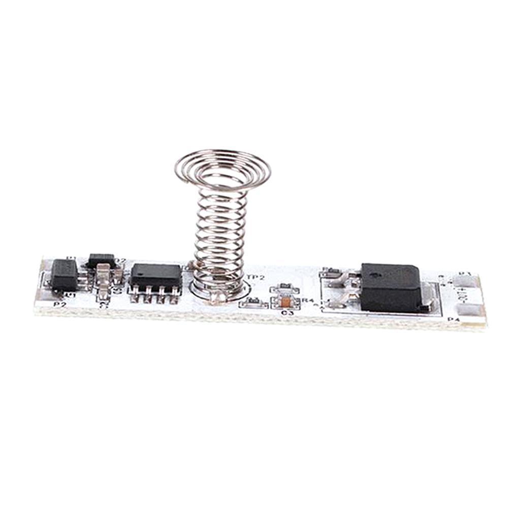 12V Strobe-livre Pyroelectric Sensing Stepless Movimento sensor de toque Módulo nítido e claro de saída de som, baixo ruído