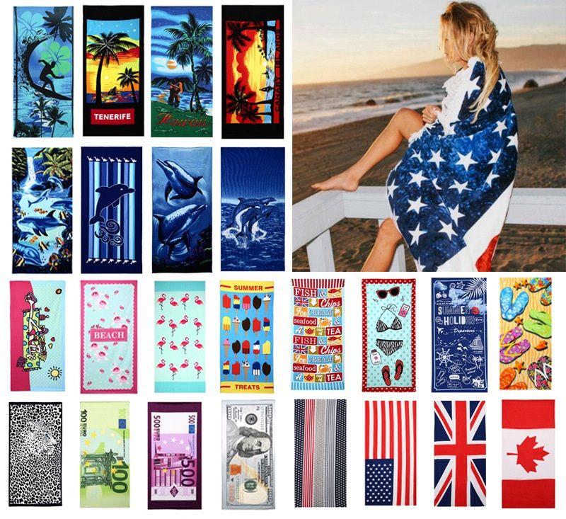 Полотенце национальный флаг, флаг риса, фунт, 3-D печати пляжное полотенце Полотенца подарков Spa Gym Yoga Пляжные полотенца Туалет Принадлежности 70 * 150см A155