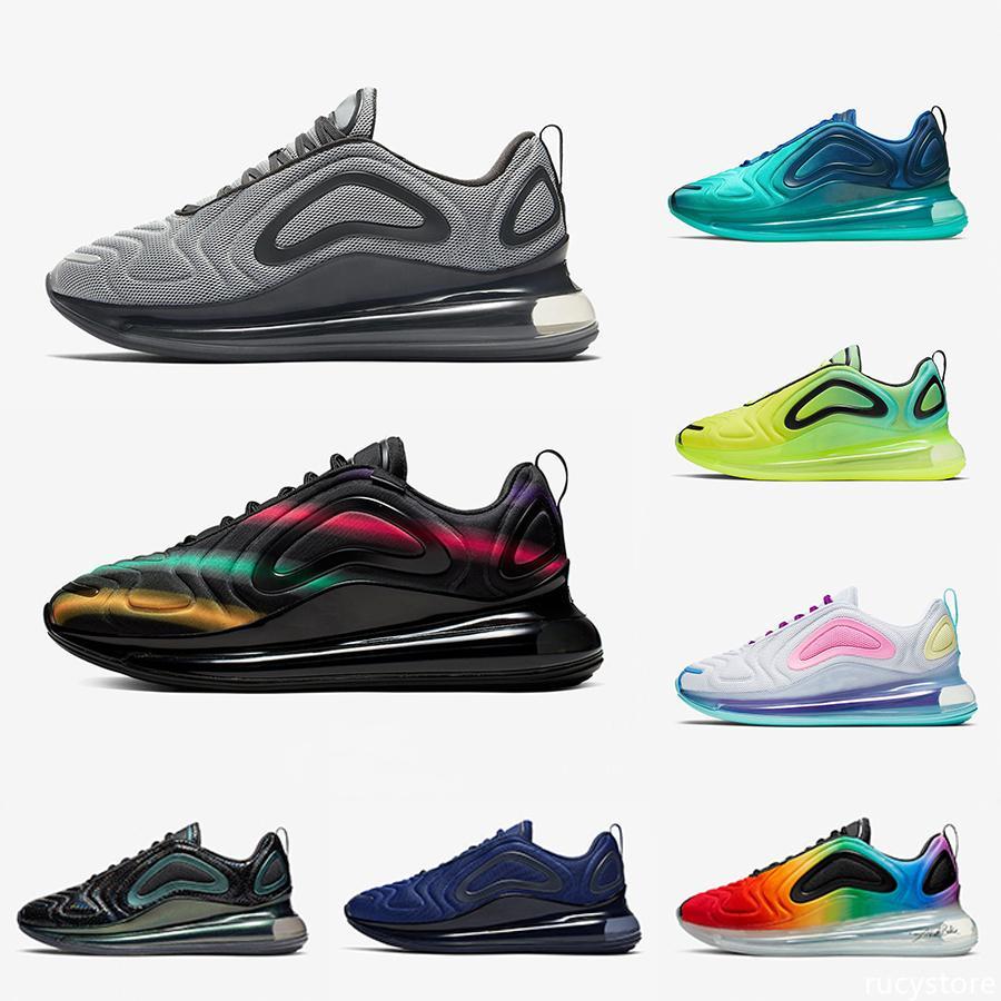 2020 Be True Université Hommes Chaussures de course flash Sea Forêt Noire Triple Hommes Femmes designer Athletic trainer Sport Chaussures 36-45