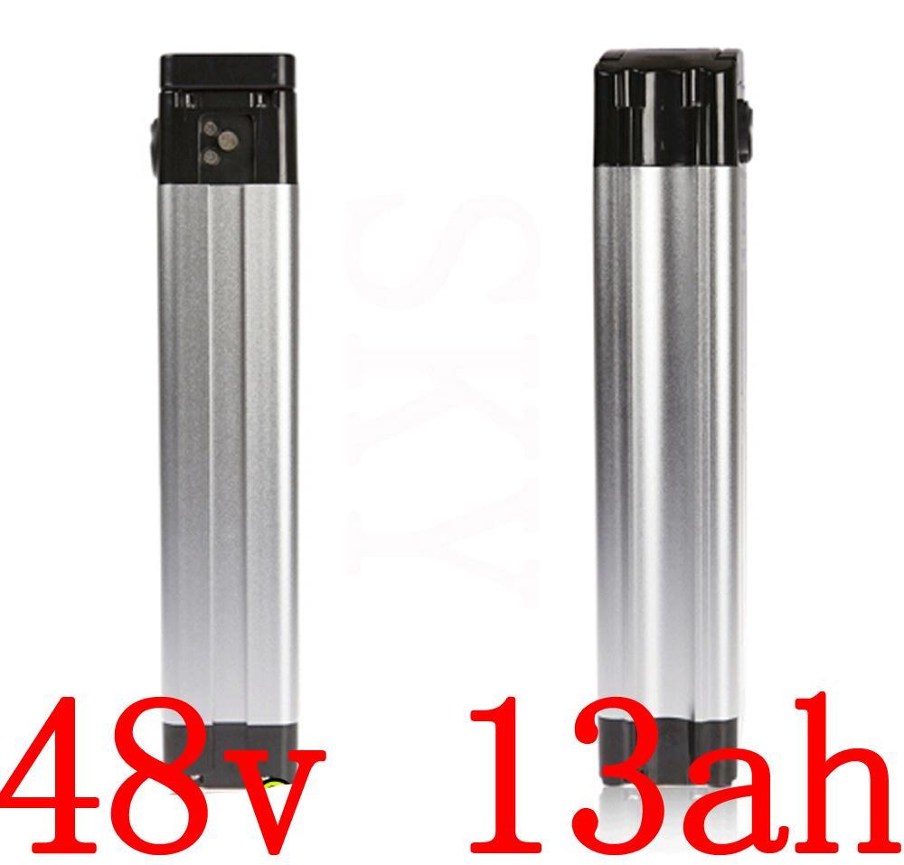 48В батареи 48v 13ah литий пакет электрический велосипед подходит 500W 750W 1000W Ebike двигатель с зарядным устройством 2A