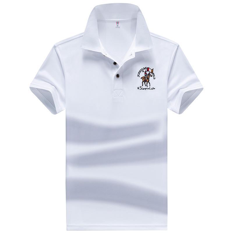 YIHUAHOO Polo Hommes haute qualité Hommes Coton manches courtes T-shirt d'été Marque Maillots Para Hombre Taille Polos M-4XL JCP-731