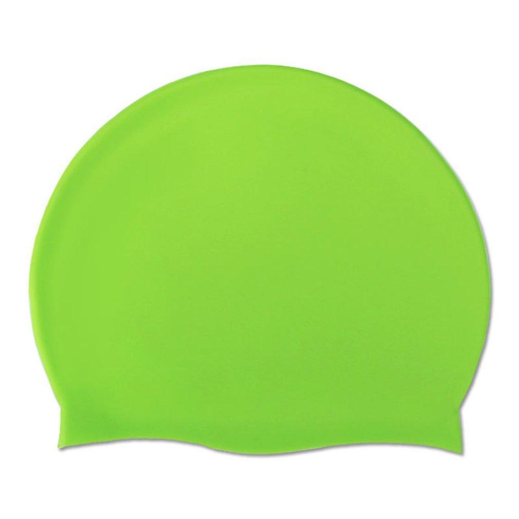 orejeras de silicona puro gorro de baño a medida natación publicidad casquillo adulto gorro de natación universal de silicona