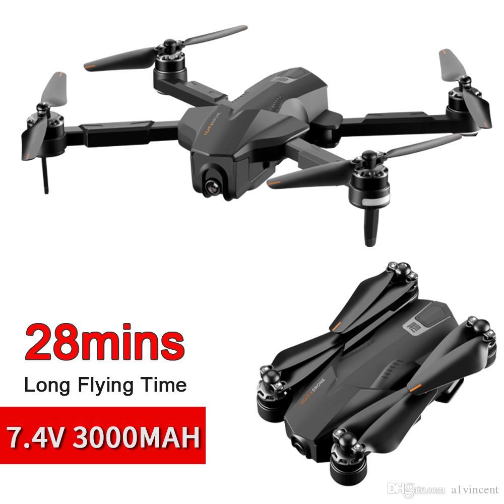 28 دقيقة 3000 مللي أمبير 1000MAL SMRC ICAT3 فرش GPS بدون طيار تدفق بصري تحديد المواقع طائرات هليكوبتر 4K HD كاميرا