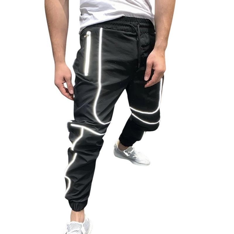 REYO Mens Fashion Home Pants Loose-Fitting Sport Yoga Pants Tie-up Comfortable Trousers Sweatpants