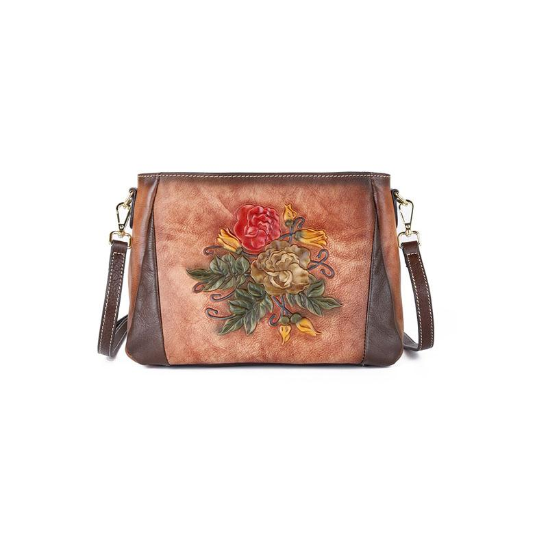 Soft Leather Crossbody Bags For Women Messenger Bags 2020 Vintage Leather Bags Handbags Women Famous Small Shoulder Bag