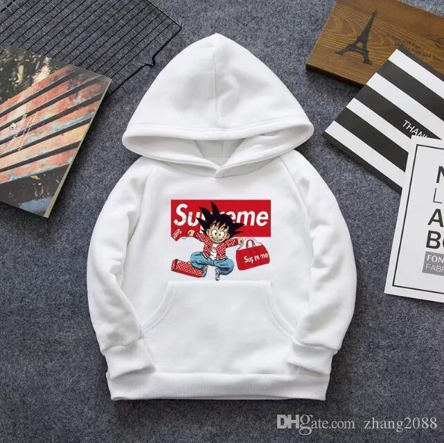Bambino con cappuccio New Spring modello maschile Abbigliamento per bambini Ragazze Tempo libero in Child Movimento bambini Pullover Stampa Maglione