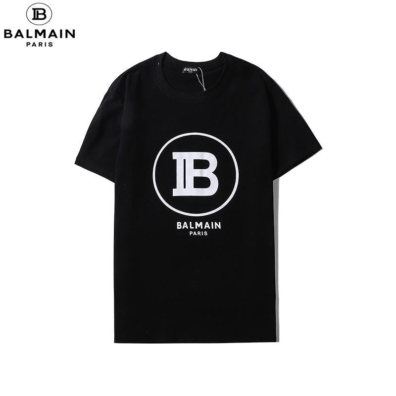 Nueva Marca de moda de verano hombres de la camiseta tops cabeza del tigre de impresión de la letra camiseta de algodón de manga corta camiseta Hombres Mujeres Tops negro blanco 830