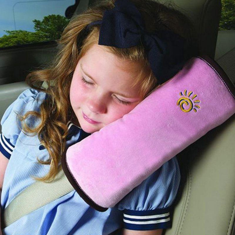 아기 자동차 자동차 안전 좌석 벨트 하네스 어깨 패드 커버 어린이 보호 자동차 커버 자동차 쿠션