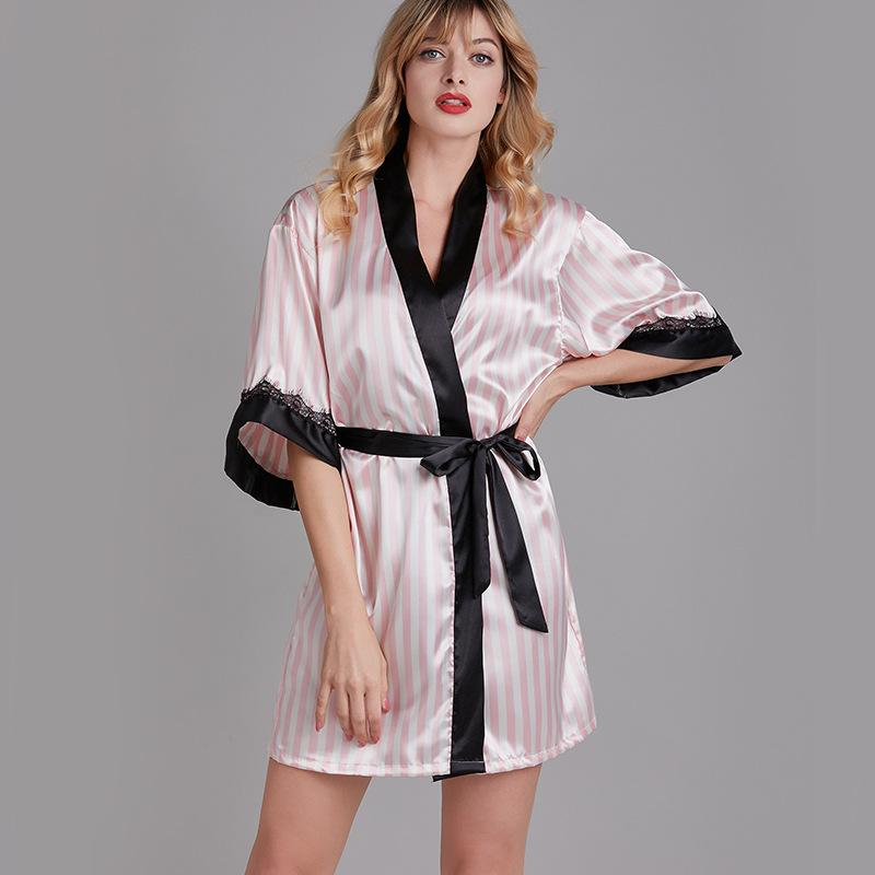2020 Dressing Gowns For Women Bathrobe Sleepwear Robes For Women Woman Dress Plus Size Silk Robe Womens Silk Robes From Armhole 16 26 Dhgate Com