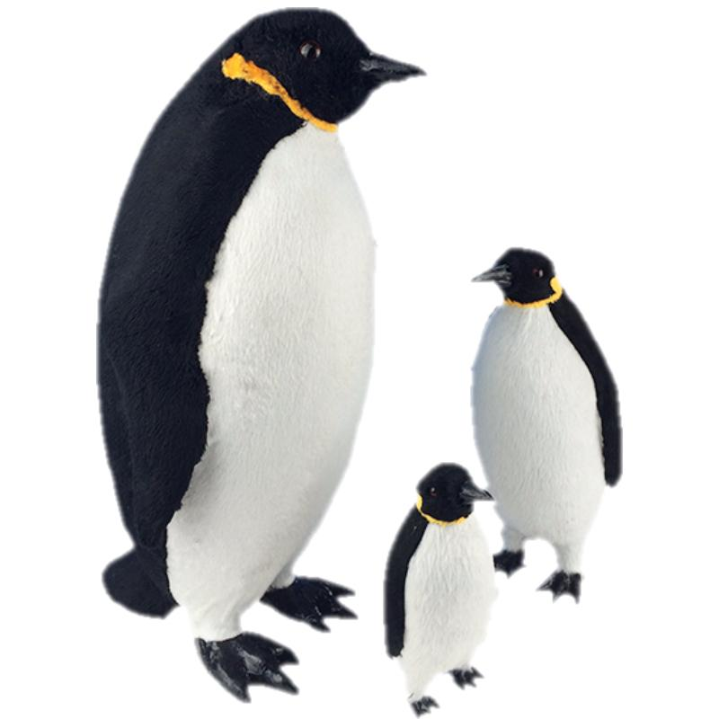 New Simulation Marine Creature Penguin Model Kids Children/'s Cute Toy