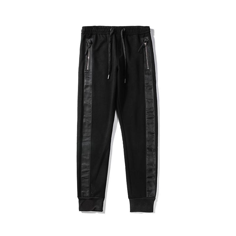 Новое прибытие Mens стилиста брюки Mens высокого качества, стилиста Брюки Мужчины Женщины Ретро повседневные брюки Спорт черный Jogger