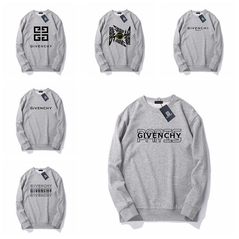 Los diseñadores de lujo con capucha camisetas de la manera impresa letra de alta calidad de los hombres mujeres camiseta unisex chaqueta con capucha del tamaño S-XXL # 6873