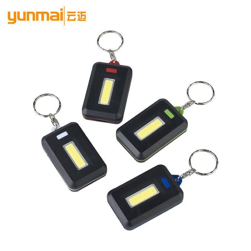 Pulsante Cross Border Cob Zaino Alpinismo chiave Mini Led plastica regalo della lampada di esperti per