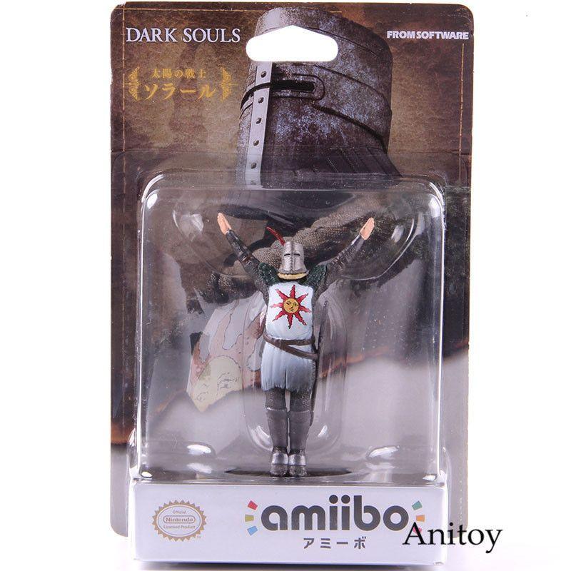 Dark Souls Action Figure amiibo Solar Sun Guerreiro do Astora Pvc Collectible Modelo Toy Y190604
