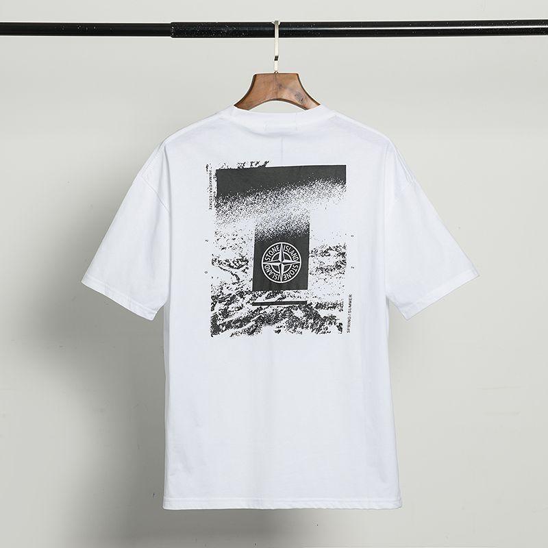 2020 vêtements de mode T-shirt T-shirt des hommes de haute qualité de la mode d'été à manches courtes décontracté col rond confortable K73NP1KA
