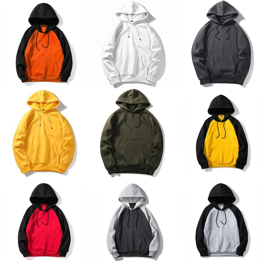 Moda Erkek Fermuar Palto Ceket Uzun Kollu Polar Hırka Erkek Kapşonlu İnce yastıklı Tasarımcı Ceket Erkekler 3 Renkler # 707