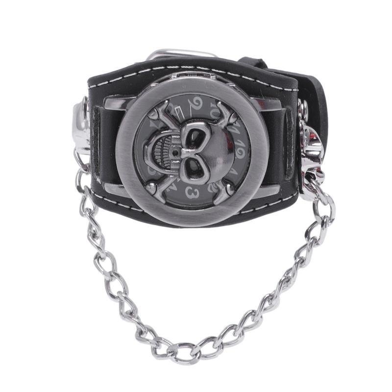 Reloj para hombre reloj de pulsera esqueleto
