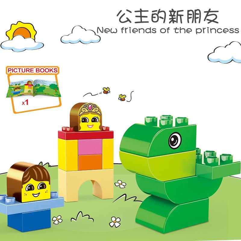 Années pour enfants Modèle Building Cadeau Briques Creative Assemblage des Blocs Animaux Intelligence Technique Diy Jouets Enfants pour 11 Nsirl