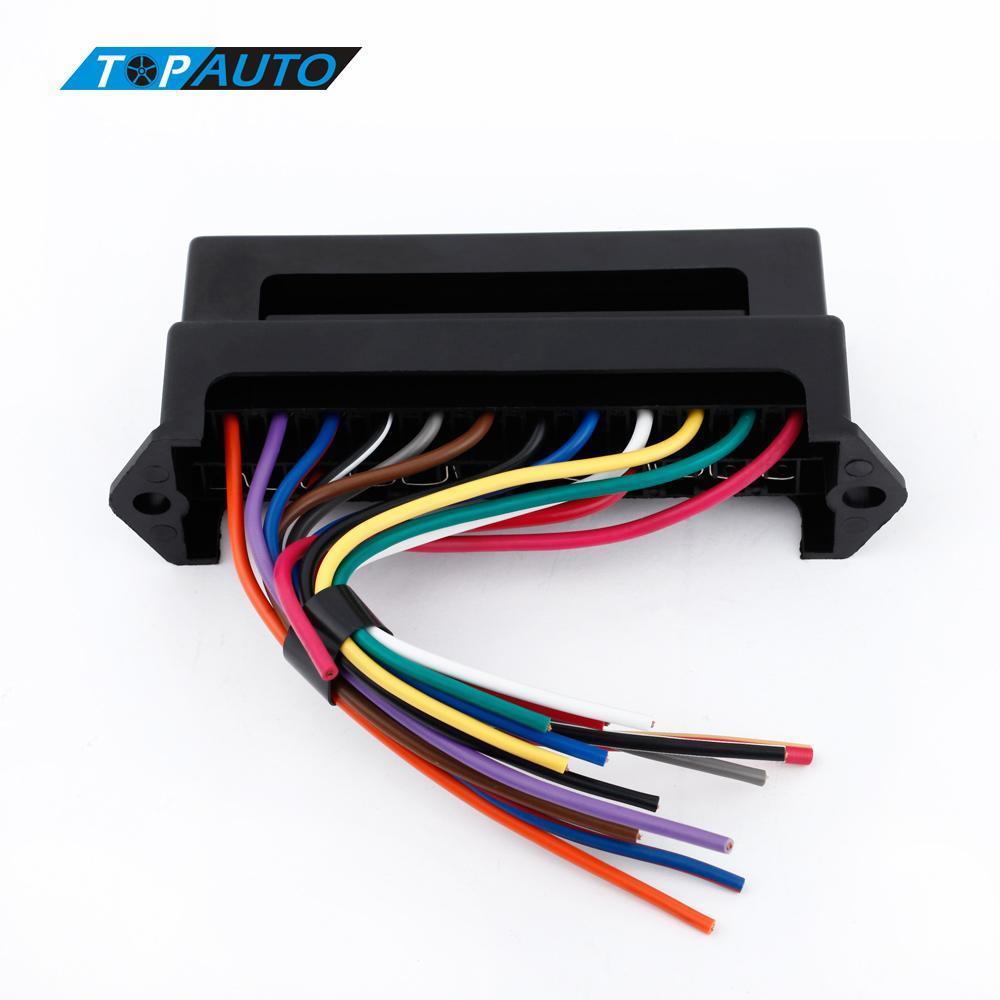 2020 12 way dc 12v volt fuse box 24v 32v circuit car trailer auto blade  fuse box block holder atc ato 2 input 12 ouput wire from renhuai888, $24.97  | dhgate.com  dhgate.com