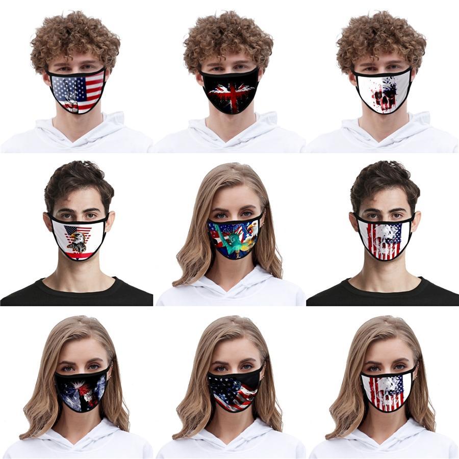 Moda Karikatür Maskeler Yıkanabilir 3D Baskılı Tasarımcı Pamuk Ağız Maskeleri PM2.5 toz geçirmez Ve smong Yüz Koruyucu # AQ199 Maskesi