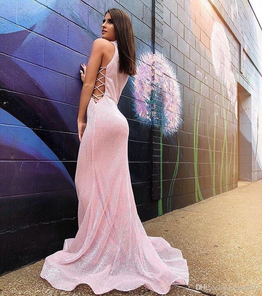 Luxe col montant sirène Femmes dîner Robe longue soirée formelle robe robe de soirée Custom Made