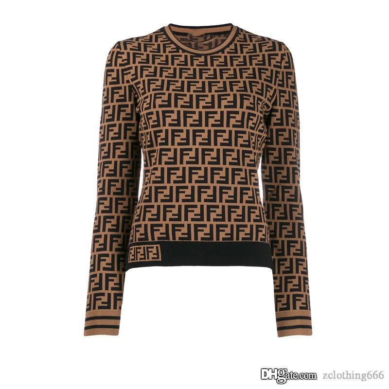 2020 vestiti della donna maglioni donne Mens delle donne Il nuovo modo pullover Uomini Donne Felpa Lettera Maglieria abbigliamento Street Style