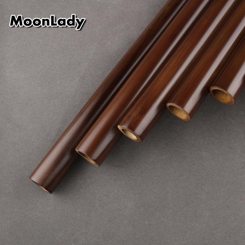 Chinese Traditional Musikinstrument 25 Pipes Panflöte C Key-Qualitäts-Panflöte Holzblasinstrument Bambus Panflöte