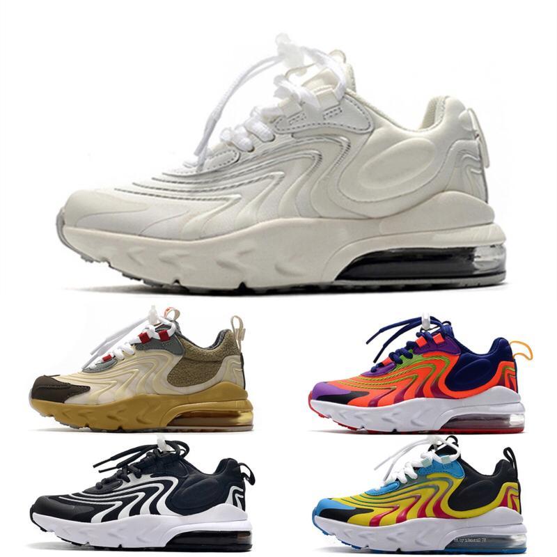 Nike air max 270 Nuevo bebé niños pequeños V3 zapatos deportivos en venta infantil de alta calidad runnning niño zapatilla y niñas niños atléticos zapatilla de deporte
