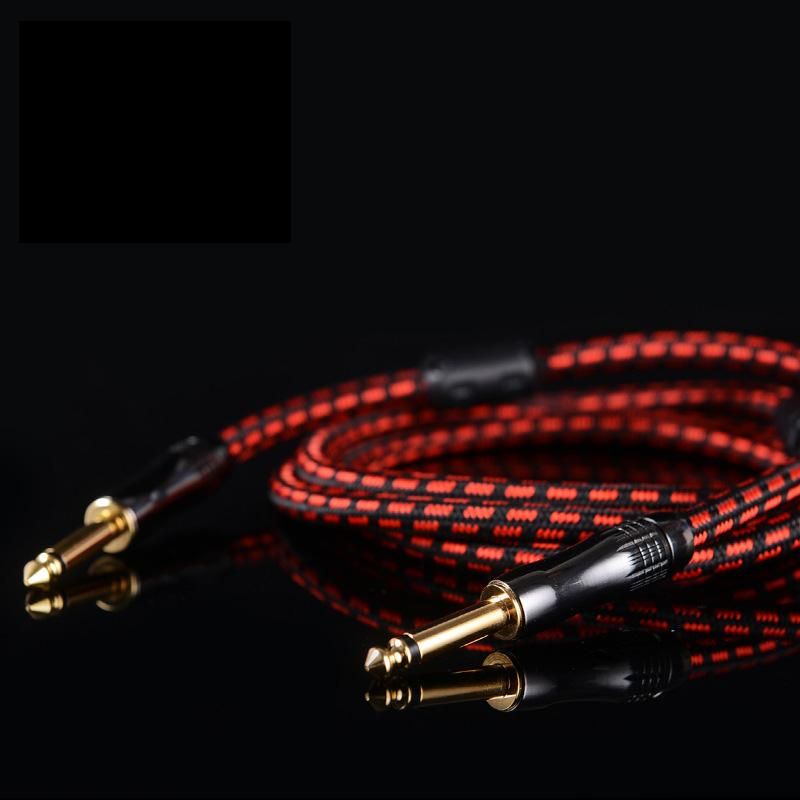 6.35 Mono Guitar Cable Big Two-Core Audio Cable Mixer Cable