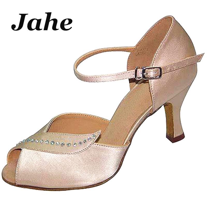 pelle di ballo latino scarpe di salsa delle donne in raso di progettazione su misura unico raso scarpe per ballo liscio Tango