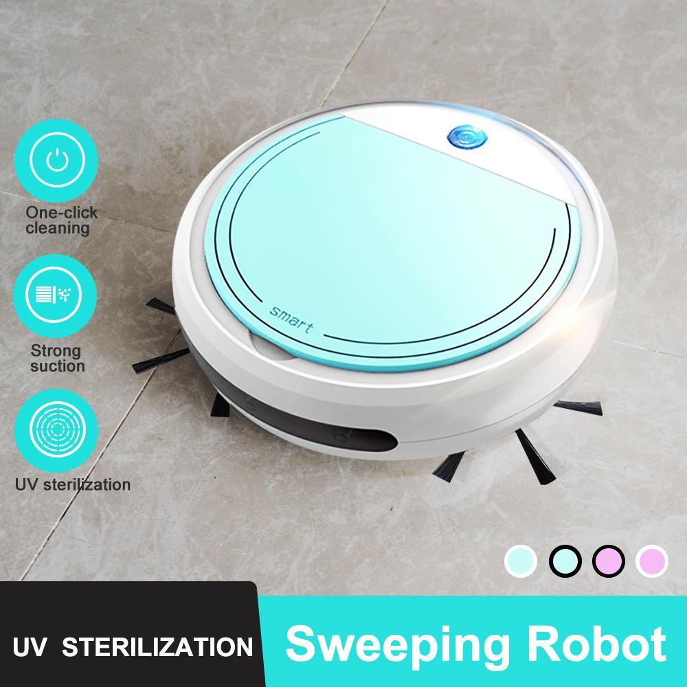 JuneJour Robot Aspirapolvere straccio bagnato contemporaneamente per hard FloorsCarpet Run 120mins prima automaticamente Hot Charge