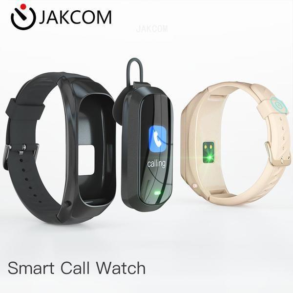Kulaklık Kulaklık JAKCOM B6 Akıllı Çağrı İzle Yeni Ürün futbol kupa metal pet kurutma odası blackview bv9900 olarak