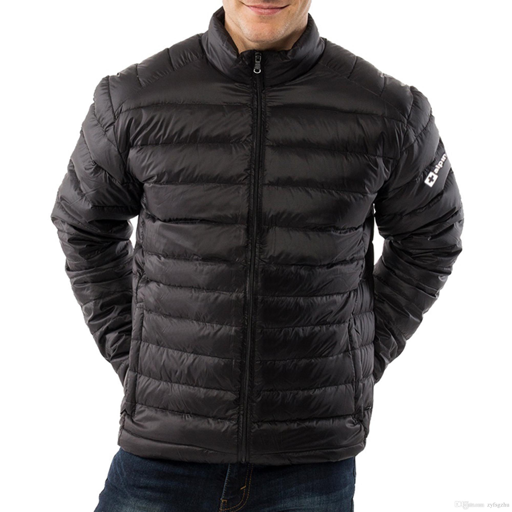 f9976e44642 Free Fashion Swiss Niko Packable Light Mens Down Jacket Puffer Bubble Coat  Warm Parka