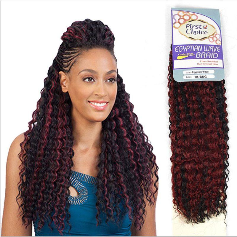 18 인치 크로 셰 뜨개질 머리띠 아프리카 변태 트위스트 합성 선염 꼬기 머리 확장 금발 블랙 Kanekalon Marly 머리