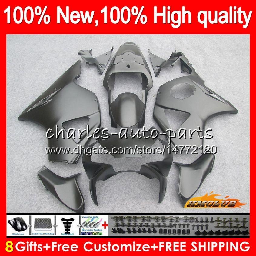 Carrosserie pour HONDA noir mat nouvelle CBR954RR CBR900RR CBR900 RR 02 CBR954 2003 77HC.9 CBR 900cc 954 900 CC RR CBR 900RR 954RR 2002 03 Carénage