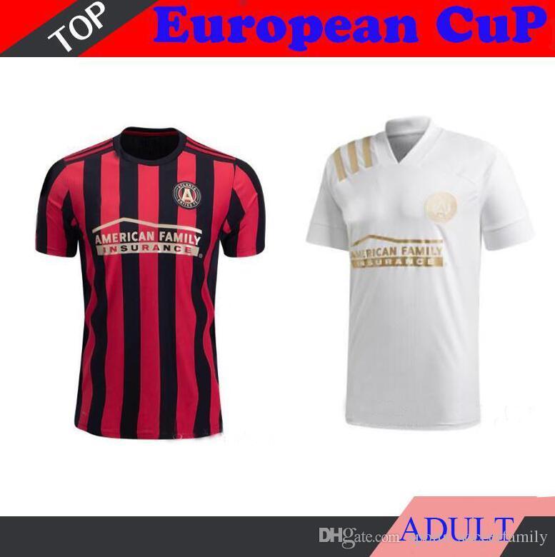White 2020 2021 MLS Parley Atlanta United FC Soccer Jersey ...