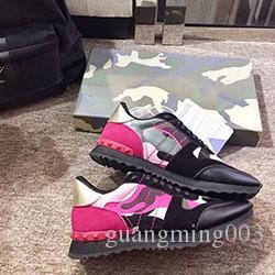Tasarımcı ayakkabı Man Günlük Ayakkabılar düz ayakkabılar batı Moda Wrinkled Deri Yüksek Üst kırmızı kauçuk Eğitmenler Arena Ayakkabı xkq01 kaçak kanye