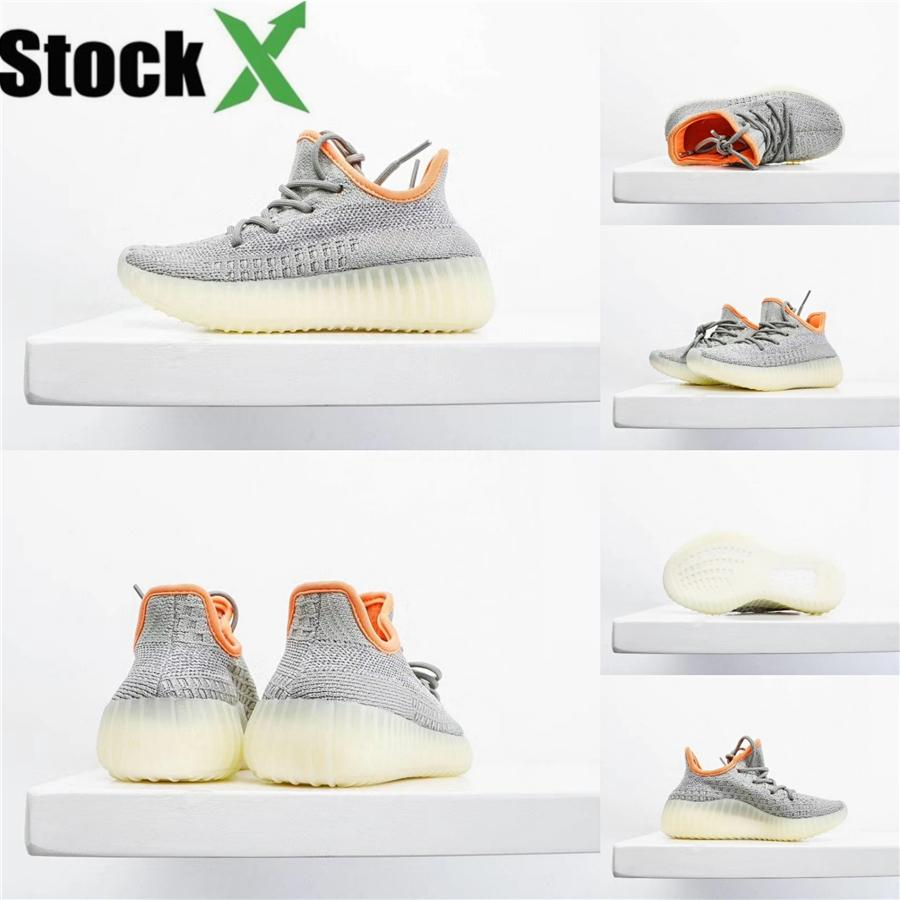 New Baby Kids Shoes Kanye West Zebra Running Shoes 2020 Children Athletic Beluga 2.0 Sports Breathable Sneakers Black Silvery Golden 28-3#402