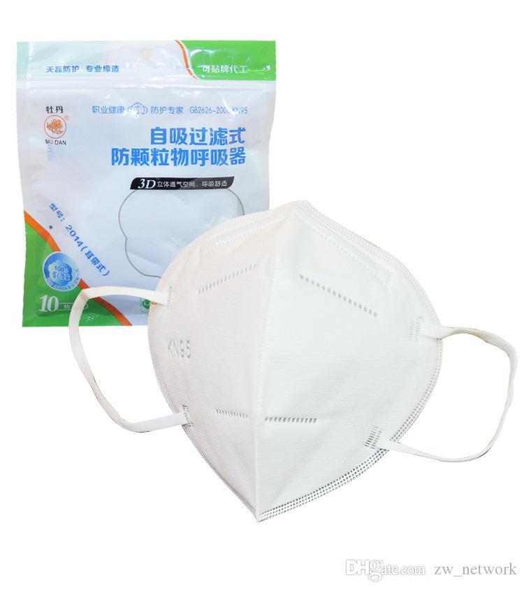 1000 piezas más barato KN95 boca máscara protectora máscara Facial reutilizable máscaras protectoras N95 Earloop boca máscara cara cubierta