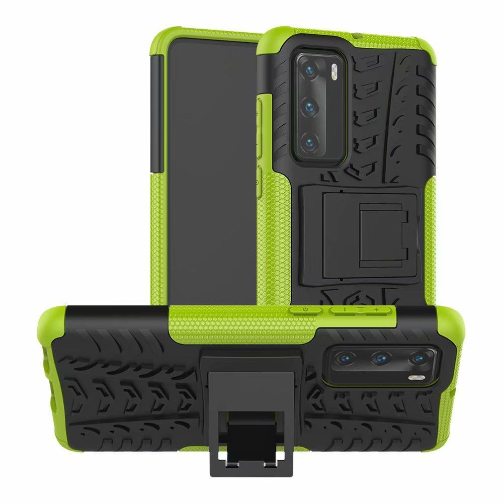 Para Huawei P40 Caso noble de la manera ultra-delgado dura de la PC de la contraportada de lujo colorido de la etiqueta engomada protectora del caso para Huawei P40
