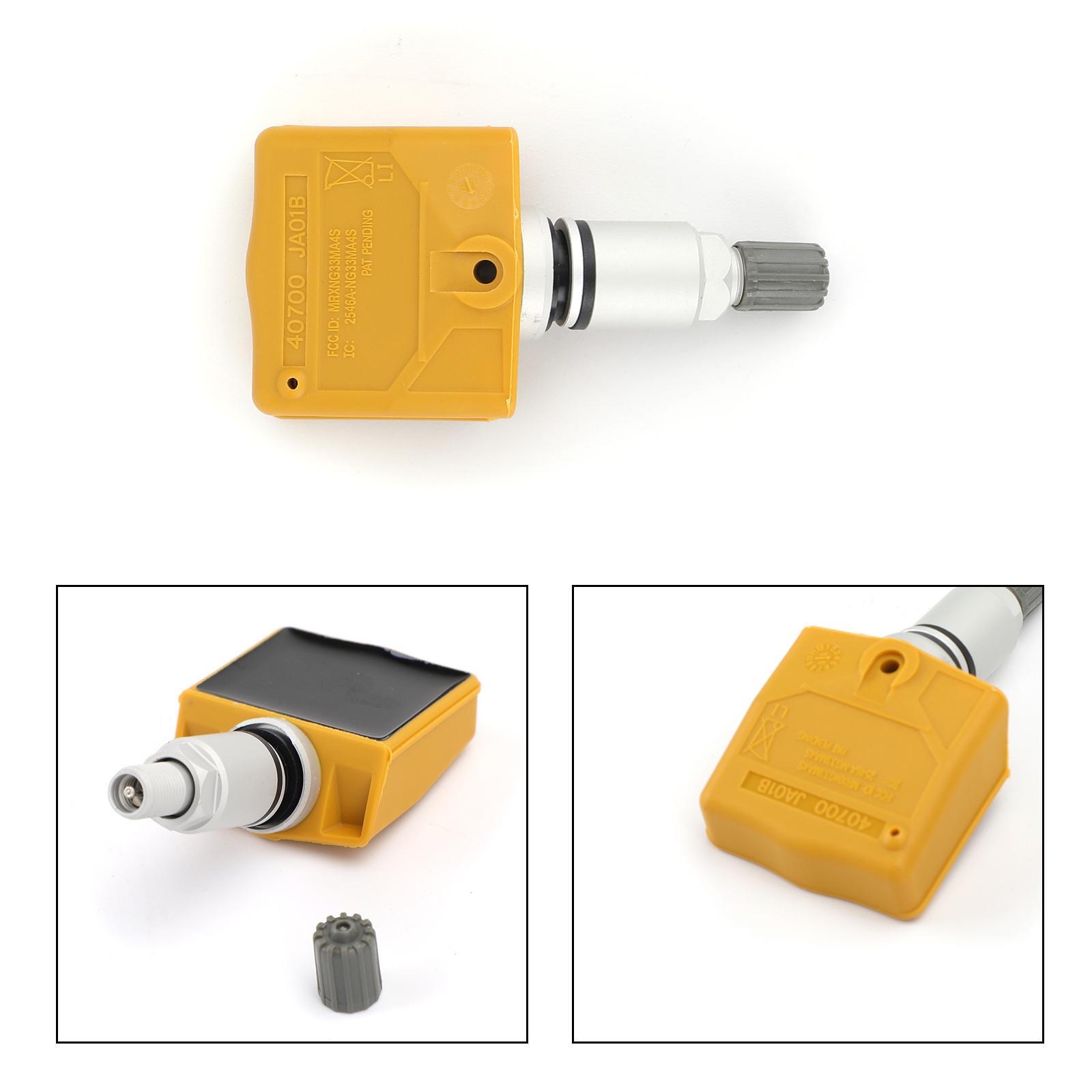 مجسات Areyourshop 40700-JA01B ضغط الإطارات TPMS الضغط الاستشعار 315 ميغاهيرتز لنيسان لإنفينيتي الأصفر TPMS متعلقاتها السيارات