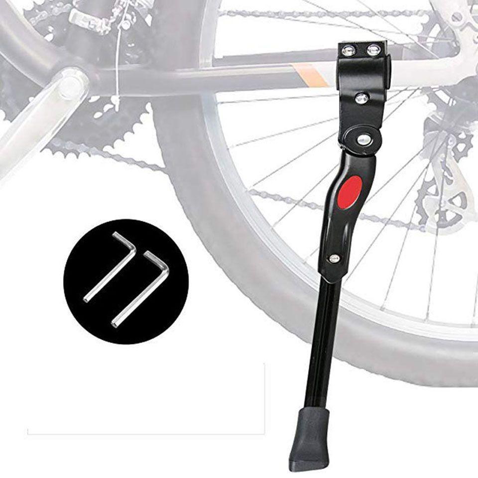 Adjustable Bicycle Kickstand Mountain Bike Aluminum Side Kick Stand Support