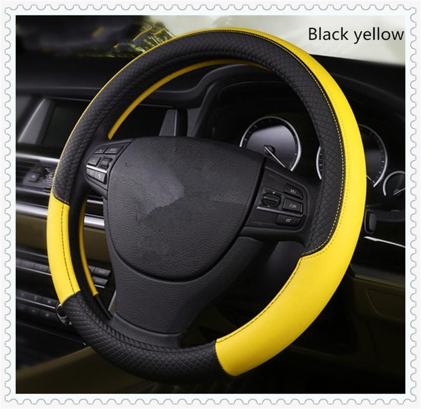 High quality 37-38 cm diameter car parts steering wheel cover for A180 A-Class X-Class S63 S600 S560e S65