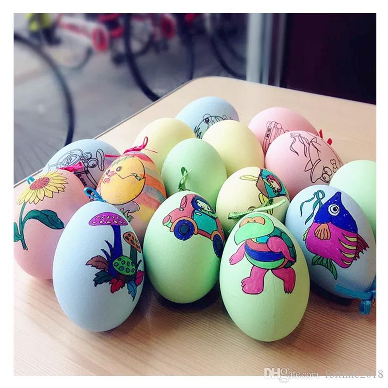 Satin Al Diy Paskalya Yumurtalari Cocuk Oyuncaklari El Cizilmis