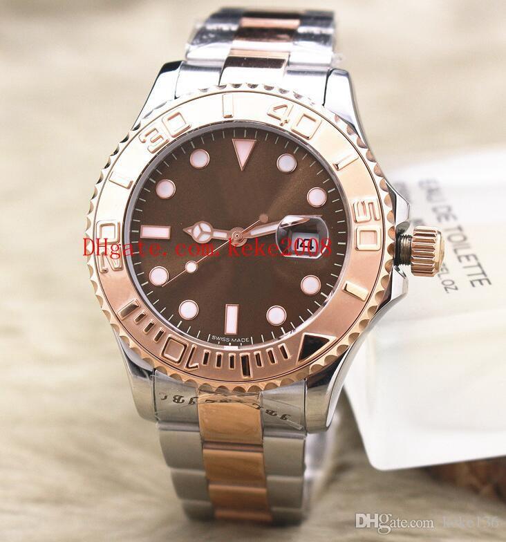 6 renkler En çok satan Saatı 40mm 116621 116622 Perpetual 18 k Rose Gold Asya 2813 Hareketi Mekanik Otomatik Mens Watch Saatler