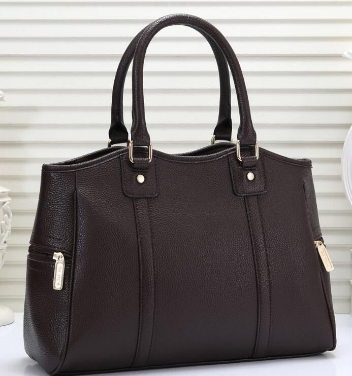 Classico Donne Retro Borsa Organo di lusso del cuoio genuino delle cinghie di spalla borsa del progettista borse Messenger Crossbody Bags 2018