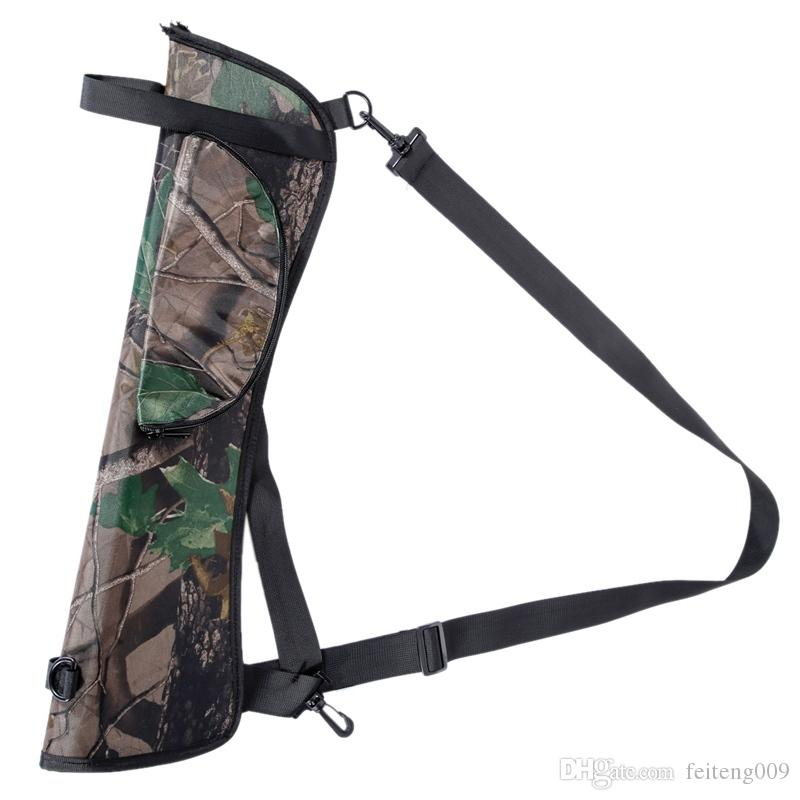 Fashionable Target Hunting Archery Quiver Back Hip Waist Bag Arrow Bow Holder Pouch Drop Shipping #717413
