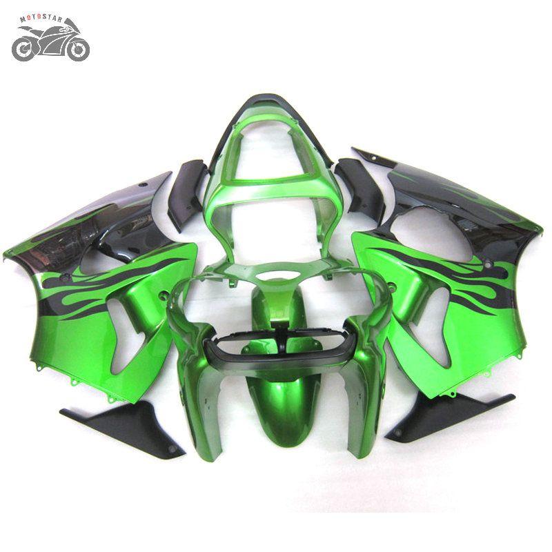 carenagens livre personalizadas para Kawasaki Ninja 2000 2001 2002 ZX6R kit 636 ZX6R 2000-2002 00 01 02 ZX 6R motocicleta ABS Injeção carenagem