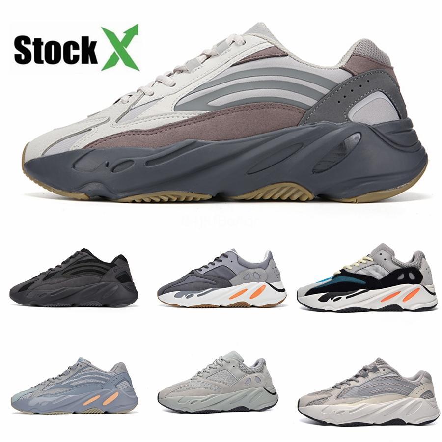 2020 Novo 700 V3 Azael Alvah Kanye West Sapatos Mens tênis para homens 700S Sports Tripler Moda sapatilhas Shoes Com Caixa 2 # QA514