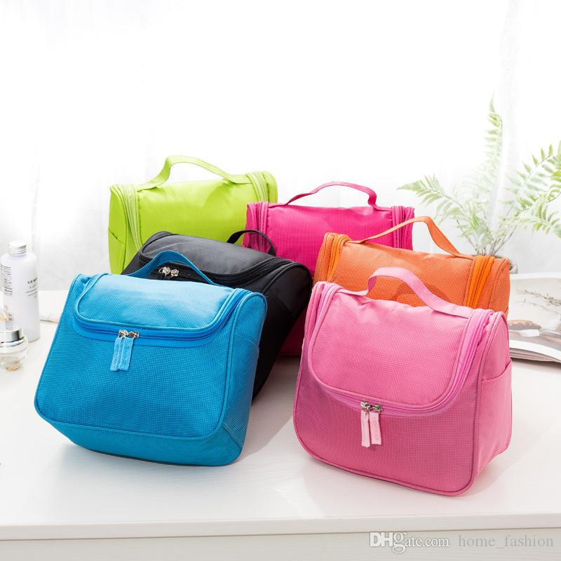 6 Farben Koreanische Version Tragbare Reise Große Damen Waschen Gurgeln Tasche Multifunktionale Outdoor Storage Kosmetiktasche Aufbewahrungsbeutel